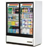True® GDM-41SL-60-LD Slim Line 19 Cu Ft Refrigerator Merchandiser