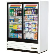 True® Slide Door Slim Line Refrigerator Merchandiser, 19 Cubic Ft