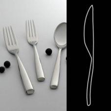 """Steelite 5315S046 Zen S/S H.S.H. 7"""" Standing Butter Knife - Dozen"""