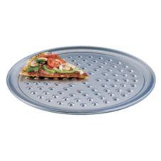 "American Metalcraft NHATP10 HW 10"" Aluminum Pizza Pan w/ Nibs"