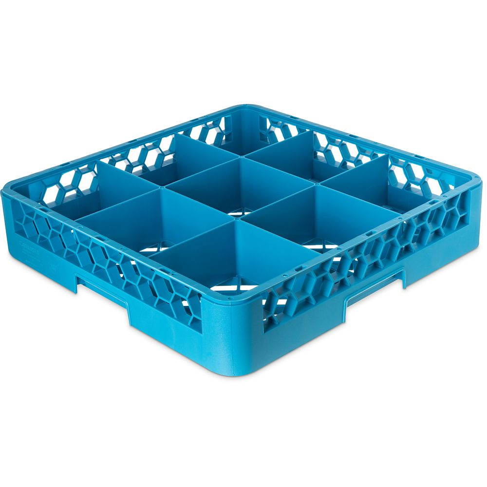 OptiClean Carlisle RG914  Blue 9-Compartment Glass Rack at Sears.com