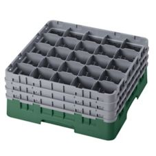 Camrack 25S738119 Sherwood Green 25 Compartment Full Size Glass Rack
