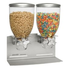 Zervo® Countertop Double Cereal Dispenser