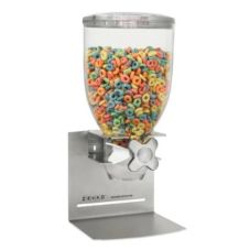 Zevro Designer Single Canister Countertop S/S 17.5 oz Cereal Dispenser