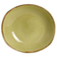 """Steelite 11220587 Terramesa Olive 8"""" Zest Platter - 24 / CS"""