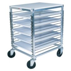 Win-Holt® WP-1815/PPTL Wire Pan Rack Cart w/ Cutting Board Top