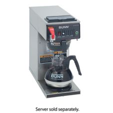 BUNN® 12950.0293 Stainless Automatic Coffee Brewer with 1L Warmer