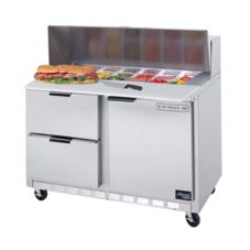 Beverage-Air SPED48-12C-2 Elite Refrigerated Counter w/ Cutting Board