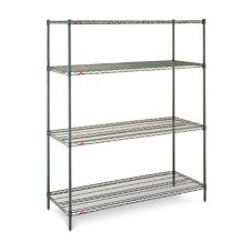 "Metro EZ2448NK3-4 Super Erecta Shelf 24 x 48"" Convenience Pak™"
