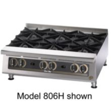 "Star® 808HA Ultra-Max® 48"" Standard Gas Hot Plate"
