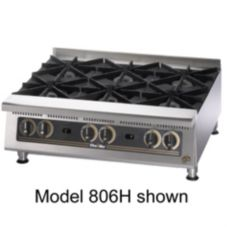 "Star® 808HA Ultra-Max® 48"" Wide Gas Hot Plate"