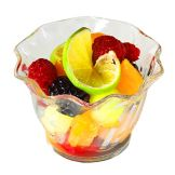 Cambro® Clear 5 Oz. Plastic Serving Swirl Bowl, SRB5CW135
