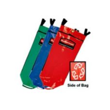 Rubbermaid FG9T93010000 Blue 34 Gal Recycling Bag w/ Universal Symbol