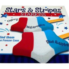 "Dairy Queen MP7477 Starkiss Stars & Stripes 17"" x 17"" Transparency"