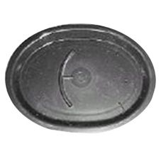 North Texas Plastics 10466 Black Pasta Platter - 12 / CS