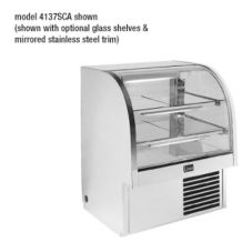 "Randell Refrigerated Self Contained See-Thru 37"" Display Case"