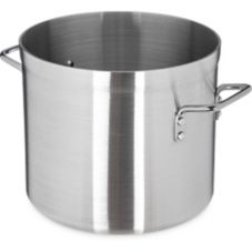 Carlisle® 61212 12 Qt. Standard Weight Aluminum Stock Pot
