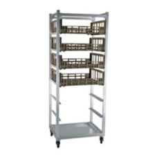 New Age Industrial 95136 Alum. Mobile Full Height Produce Crisper Rack