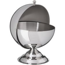 Carlisle® 609133 30 Oz. Stainless Steel Roll-Top Covered Dish