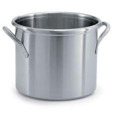 Vollrath® 77580 Tri-Ply S/S 12 Qt. Stock Pot without Lid