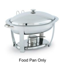 Vollrath 46505 Replacement S/S Food Pan for 46501 Orion Oval Chafer