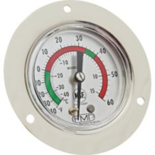 Refrigerator / Freezer Thermometer, S/S Housing, 9""
