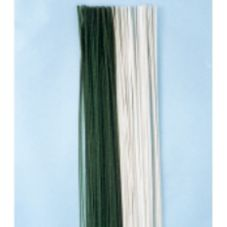 "Milton Adler Co F-24G Green 24"" Flocked Wire - 100 / PK"