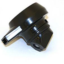 Service Ideas BTLBL Brew N' Pour™ Black Replacement Lid - 12 / CS