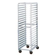 Advance Tabco 20 Pan Capacity Mobile Steam Table Pan Rack, STR20-3W-X