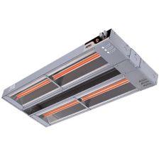 "APW Wyott FDD-66H-I 66"" Dual 3600W Heat Lamp w/ Infinite Control"