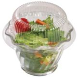 Cambro® CLSRB5152 Clear Disposable Lid for Swirl Bowl - 1000 / CS