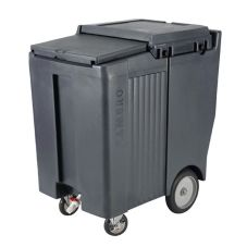 Cambro ICS200TB191 Tall Mobile 200 Lb Capacity SlidingLid Ice Caddy