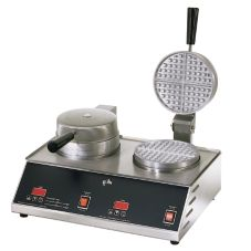 "Star® SWB7R2E CSA Double Standard 7"" Round Waffle Baker"