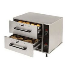 Star® Mfg 2-Drawer Narrow Food Warmer w/ Individual Controls