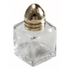 Winco™ G-101 Square 1/2 Oz Salt & Pepper Shaker - Dozen