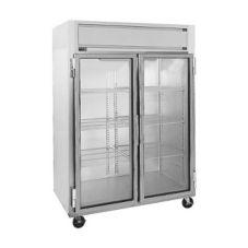 Randell® 2021 Reach-In 46.08 Cu Ft Double Glass Door Refrigerator