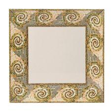 "G.E.T.® ML-91-MO Mosaic™ 14"" Square Melamine Plate"