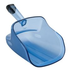 Rubbermaid Blue 74 oz Safety Ice Scoop w/ Hand Guard