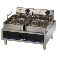 Star® Mfg Star-Max® Counter Electric 30 LB. Twin Pot Fryer