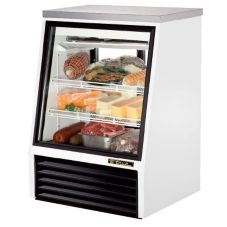 True® TSID-36-2 See-Thru 11.8 Cu Ft Deli Case With 2-Rear Doors