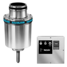 "Salvajor 3-HP Disposer w/ 6-1/2"" Sink Assembly / Manual Reverse"