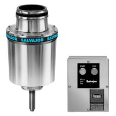 "Salvajor 3-HP Disposer w/ 6-1/2"" Sink Assembly and MSS-LD Control"
