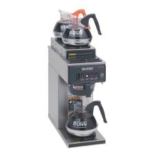 BUNN® CWT15-3 Automatic Coffee Brewer with 2U / 1L Warmers