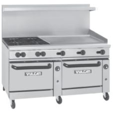 Vulcan Hart 60SS-4B-36G Endurance Gas Restaurant Range w/ Four Burners