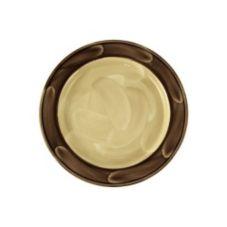 "Steelite 1542A214 Naturals Peppercorn 6-1/4"" Slimline Plate - 36 / CS"