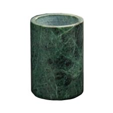 "American Metalcraft MWC58GREEN Green Marble 7"" Bottle Cooler"
