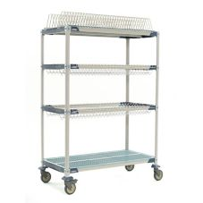Metro® PR48VX3 MetroMax iQ 24 x 48 x 69 Mobile Drying Rack Unit