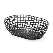 TableCraft BC7410 Complexity Collection™ Black Serving Basket