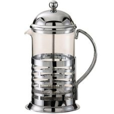 Service Ideas T477B Brick / Chrome 0.6 Liter Coffee Press