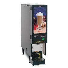 BUNN® SET00.0196 Black Powdered Beverage Dispenser with 1 Hopper